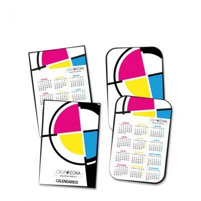 Calendarios de bolsillo personalizados a todo color - Calendarios de bolsillo Grupo Zona