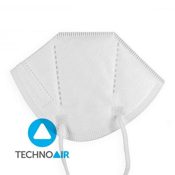 Mascarillas higiénicas Techno Air FFP2 Blanca Grupo Zona 2