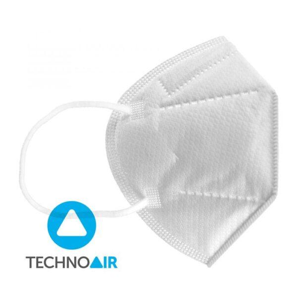 Mascarillas higiénicas Techno Air FFP2 Blanca Grupo Zona